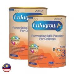 Malaysia Enfagrow A+ Step 3 Milk Powder 1.7kg x 2 tins