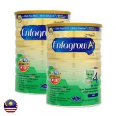 Malaysia Enfagrow A+ Step 4 Milk Powder 1.7kg x 2 tins