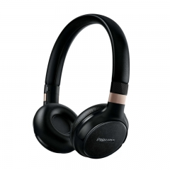 PHILIPS Wireless Bluetooth® headphones Black - SHB9250