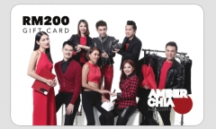 Amber Chia Gift Cards RM200