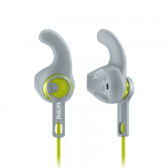 PHILIPS ActionFit Sports headphones Gray green - SHQ1300