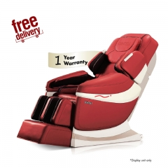 GINTELL DeAero Touch Massage Chair (Red)- Showroom Unit