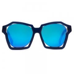 Speculum SunGlasses Visualization of sound - Blue Mirror Sunglass Korea