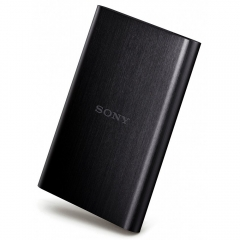 Sony 1TB HD-E1 External Hard Drive Black Black