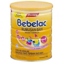 Bebelac Infant Formula Step 1 (800g)
