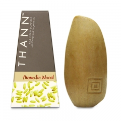 Thann Aromatic Wood Rice Grain Soap Bar - 100g