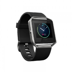 FIBIT Blaze Gunmental Smart Fitness Watch - Black