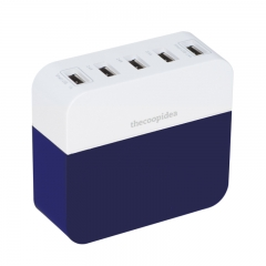 thecoopidea Power Block 10.6A 5USB Charger