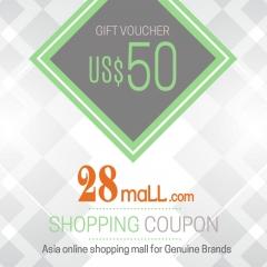 US$50 Shopping Voucher @ 28Mall