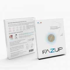FAZUP Anti-Radiation Patch for Mobile Phones (2 pieces) Made in France