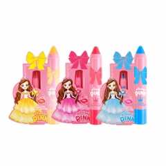 Kids Lip Crayon MakeUp Set - 3 Kids Lipsticks