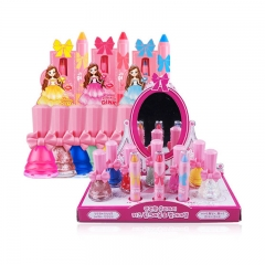 Kids MakeUp Set - Kids Lipstick and Nail Polish Make Up Kit