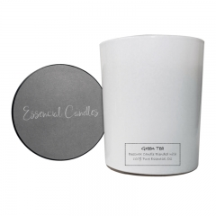 Essencial Candles Green Tea Aromatherapy Candle 180g