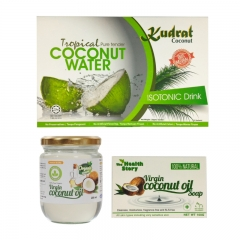 Malaysia Coconut Food and Soap Gift Set
