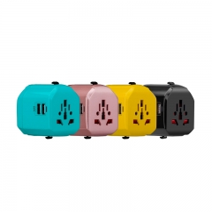 Momax 1-World USB AC Travel Adapter - UA1 Yellow