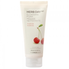 The Face Shop HERB DAY 365 Acerola Cleansing Foam 170ml