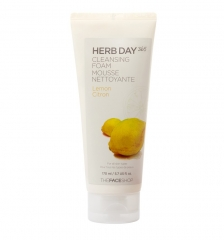 The Face Shop HERB DAY 365 Lemon Cleansing Foam 170ml