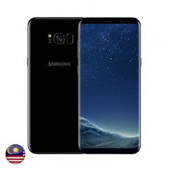 Samsung S8 Plus 64GB Midnight Black - Malaysia