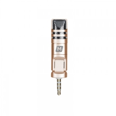 Momax X-MIC mini Gold Mobile Phone Microphone