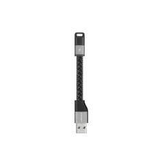 Momax Apple MFI Certified Elite-Link Pro Cable 11cm - DL1 Black