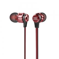 JBL Harman  Stereo Wired in Ear Earphone Microphone T180A - Red