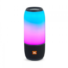 JBL Pulse 3 Lightshow Portable Waterproof Bluetooth Speaker - Black