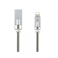 Remax Royalty Cable For Lightning IOS - RC056I Silver
