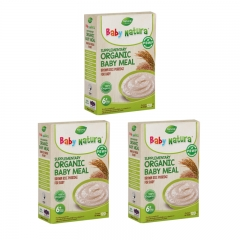 Baby Natura Organic Brown Rice Porridge - Regular 3 Packs