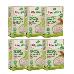 Baby Natura Organic Brown Rice Porridge - Regular 6 Packs