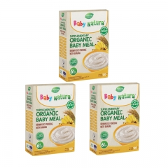 Baby Natura Organic Brown Rice Porridge - Banana 3 Packs