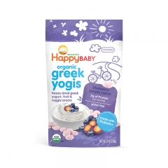 Happy Baby - Organic Greek Yogis Blueberry Purple Carrot