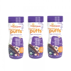 Happy Baby - Happy Puffs Purple Carrot & Blueberry 3 Packs