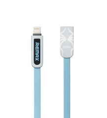 Remax Amor RC-067 2 in 1 Premium Data Cable for Apple and Android Blue