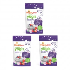 Happy Baby - Organic Yogis Mixed Berry 3 packs