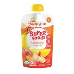 Happy Baby - Happy Tot Organic Organic Bananas, Peaches & Mangos