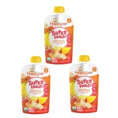 Happy Baby - Happy Tot Organic Organic Bananas, Peaches & Mangos 3 packs