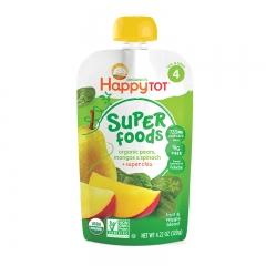 Happy Baby - Happy Tot Organic Pears, Mangos & Spinach