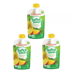 Happy Baby - Happy Tot Organic Pears, Mangos & Spinach 3 packs