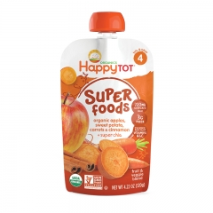 Happy Baby - Happy Tot Organic Apples, Sweet potato, Carrots & Cinnamon