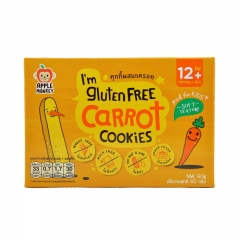 Apple Monkey - I'm Gluten Free Carrot Cookies