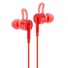 Bach Audio Power Up Earphone EM05 - Red