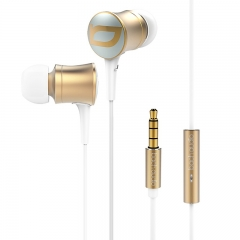 Bach Audio Power Up Ear Earphone EM06  Gold