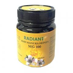 Radiant Raw Manuka Honey MG 100 Natural 340G