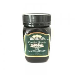 Woodland's Organic Active Manuka Honey MG 450 500G