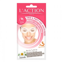 L'ACTION TIRED & PUFFY EYES REDUCER MASK Buy 1 Free 1