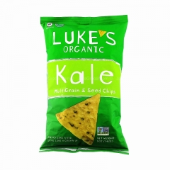 Luke's Organic Kale Multigrain and Seed Chips 5 Ounce (Pack of 12)