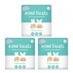 little bellies Animal Biscuits 3 Packs