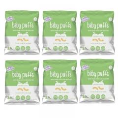 little bellies Baby Puffs Baked Apple Cinnamon 6 packs