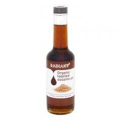 Radiant Organic Toasted Sesame Oil 310ml