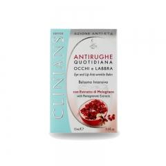 Clinians Antirughe Quotidiana Eye & Lip Anti-Wrinkle Balm
